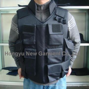 Nij Iiia Police Assault Ballistic Gilets Black Color (HY-BA004)