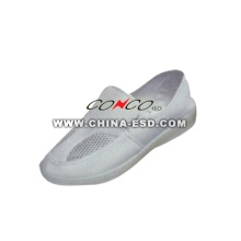 Mesh ESD clean room safety shoes