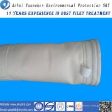 Bolsa de filtro de colector de polvo de acrílico para la planta de mezcla de asfalto