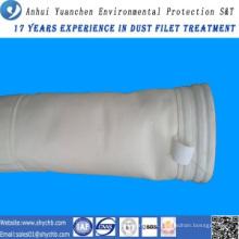 Saco de filtro acrílico do coletor de poeira para a planta de mistura do asfalto