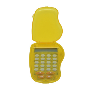 8 Digit Mini Pocket Calculator with Transparent Cover