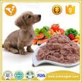 Alimentos orgânicos enlatados para cães