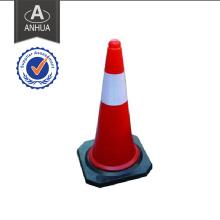 Cones de sécurité routière en caoutchouc et en caoutchouc
