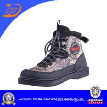 Ventes bien camouflage anti-dérapant une conception athlétique pour les pêcheurs d'eau de pêcheurs (WB-05)