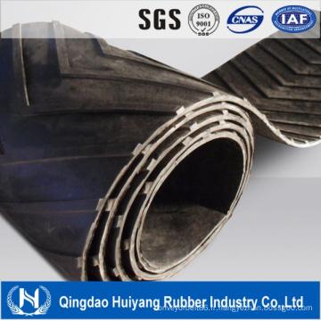 Chine Fournisseur Chevron en caoutchouc utilisé en caoutchouc bande transporteuse