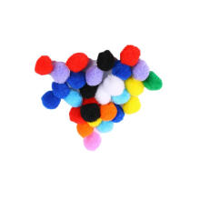 Factory direct Hot selling DIY Craft Multicolor Arts and Craft Assorted Yarn Fluffy PomPoms