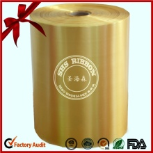 Polypropylene Single Double Face Jumbo Roll for Decoration Ribbon Bow