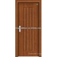 Простой дизайн ПВХ МДФ двери для дизайна спальни (JKD-8002) от бренда двери Китай Top 10