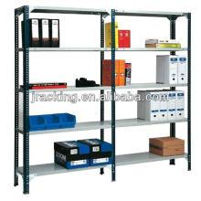 Jracking almacenamiento de acero ajustable longspan negro estantería sin tornillos