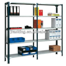 Jracking adjustable steel storage longspan black boltless shelving