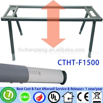 home furniture manual screw height adjustable desks frame dining table legs