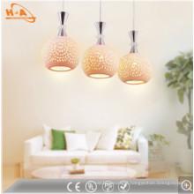 Modern European Style Warm White Round Pendant Lamp