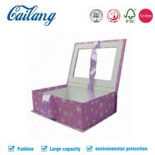 Individuell gedruckte Buchform-Fensterbox mit Multifunktionsleiste
