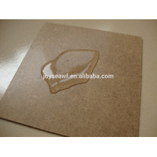 1220mmx2400mm dark brown plain hardboard for automotive