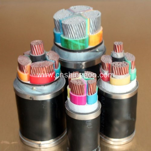 XLPE Aluminum conductor flame retardant power cable