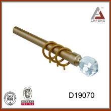 Алюминиевые карнизы из алюминиевого сплава D19070 со стеклянными покрытиями
