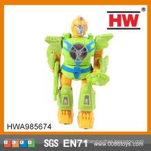 Más populares de plástico de pilas de hierro de juguete robot de la policía