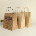 Custom Order Personal Use Brown Kraft Paper Bag