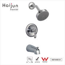 Haijun New Arrival Bathroom In Wall Mounted Chrome Thermostatic Shower Faucet