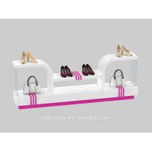 Acrylic Hat and Bag and Shoes Display Holder For Shopping Mall