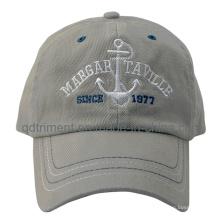Heavy cepillado algodón sarga bordado deportivo de golf de béisbol (TRB0368)