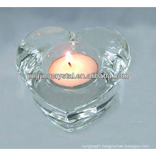 Crystal Heart Candle Holder with Higher Quality