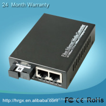 1 fiber port 2 RJ45 stm-1 to ethernet converter