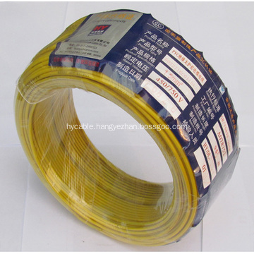 450/750V PVC Insulated Electric Wire and Cable