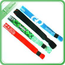 Le bracelet tissé fait sur commande petite quantité min pour le festival simple