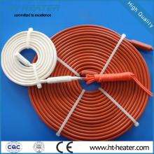 Material de caucho de silicona Tubería flexible Traza de calor