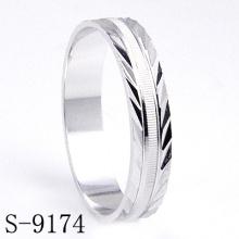 Мода стерлингового серебра свадьбы / обручальное кольцо ювелирные изделия (S-9174)
