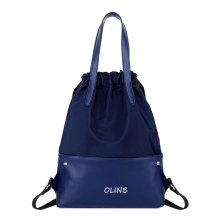 Waterproof Large Nylon Sports Shoe Storage Drawstring Bag