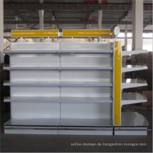 Pulverbeschichtungs-Kreisform-Supermarkt-Insel-Gondel-Fach für Verkauf durch Yuanda Company