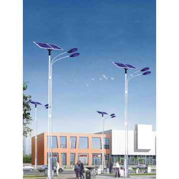 HDG Polygonal Solar Street Light Poles