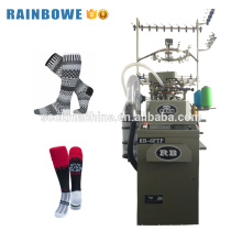 High capacity single cylinder automatic sock weaving machine used knitting socks zhejiang