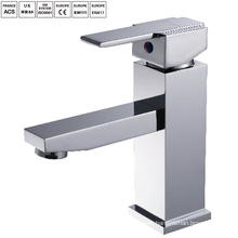 Single handle hot brass washbasin mixer
