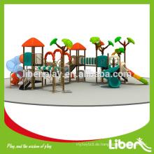 Mit Tube Slide Backyard Gym Ausrüstung für Unterhaltung