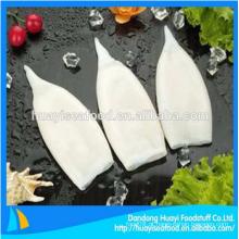 Frescos congelados squid tubo u3 u5 u7 u10 u15 etc todos os tipos de frutos do mar