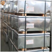 Durável estanho metal pode usado eletrolítico estanho revestido placa de Jiangsu
