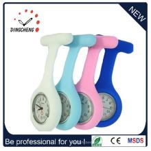 Relógio de enfermeira impermeável de gel de silicone bonito (DC-128)