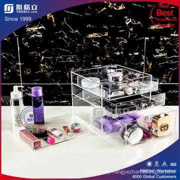 Perspex Nailpolish Lipstick and Brush Display Holder Stand