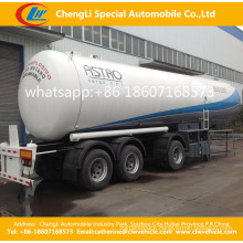 45000L Triaxles Liquefied Petroleum Gasoil Tank Semi Trailer