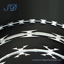 Clôture Best-Selling Concertina Cross Razor Wire