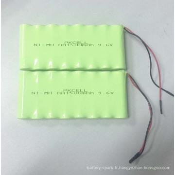 NIMH AA 1500mah 9.6V batterie rechargeable Pack NIMH AA 1500mah 9.6V batterie rechargeable NIMH AA 1500mah 9.6V batterie rechargeable Pack NIMH AA 1500mah 9.6V batterie rechargeable est l'un de nos principaux produits, vente chaude partout dans le mon