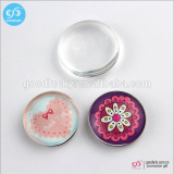 Magnetic fridge magnet promotion round glass fridge magnet custom blank fridge magnet