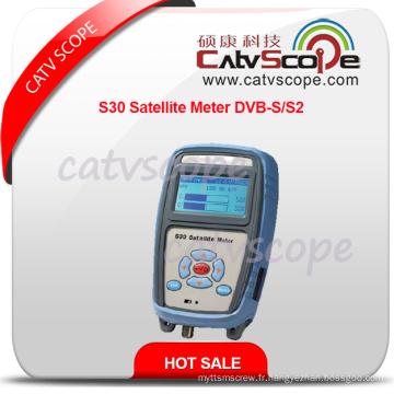 Sonomètre haute performance S30 Satellite DVB-S / S2