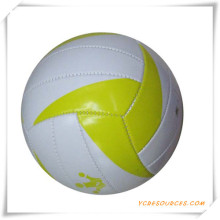 PVC Material Official Size 18 Panels Laminated Volleyball for Promotion