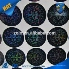 Vente en gros Strong Adhesive Permanent sticky holographic film labels