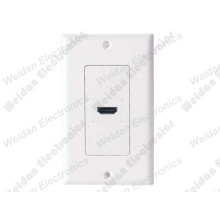 1port HDMI Wall Plate Decora Style