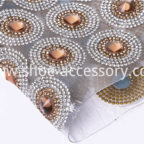 Fashion Hotfix Rhinestone Mesh p1